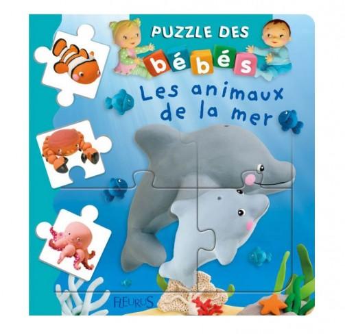 Livre puzzle les animaux de la mer