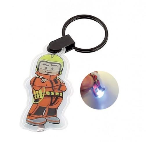 Porte clé lampe sauveteur