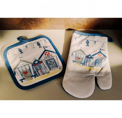 Set gant + manique Cabane