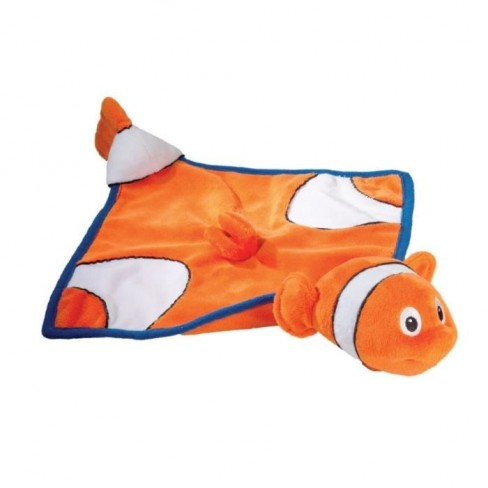Doudou poisson clown