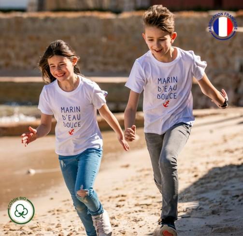 T-shirt Marin d'eau douce enfant