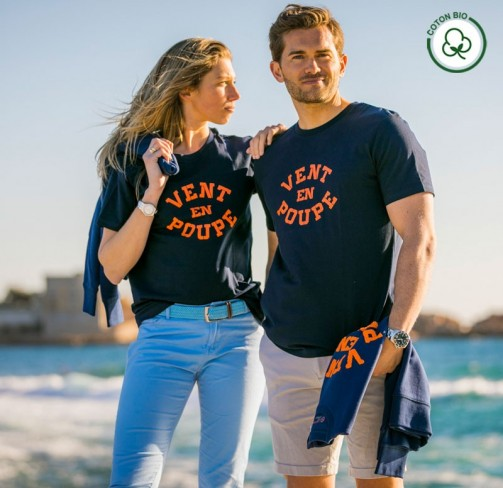 T-shirt Vent en poupe adulte