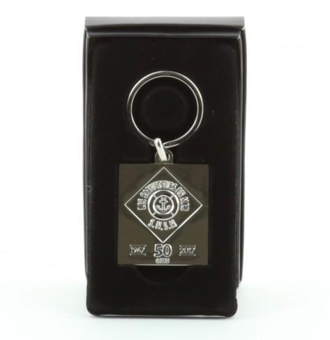 Porte-clés métal logo 50 ans