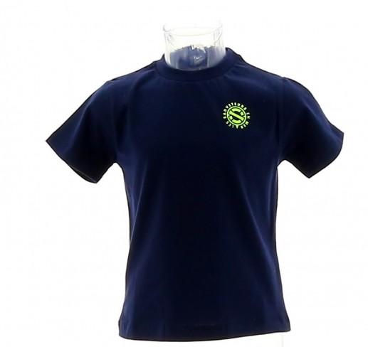 T-shirt garçon marine