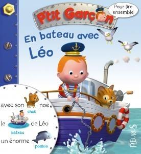 Livre en bateau avec Leo