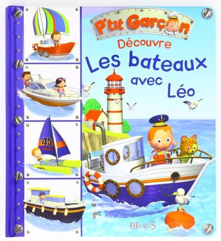 Livre Découvre les bateaux avec Leo