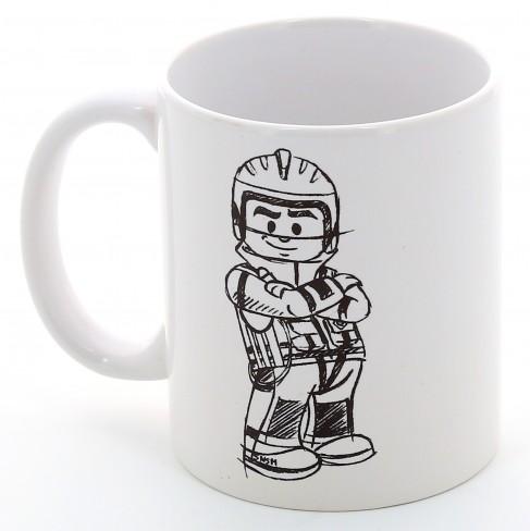 Mug crayonne sauveteur