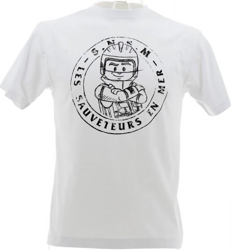 T-shirt crayonne
