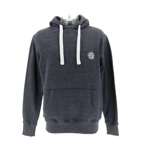 Sweat a capuche gris adulte