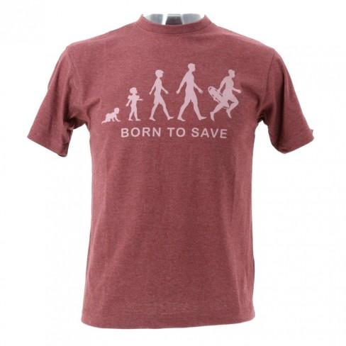 T-shirt Born to save